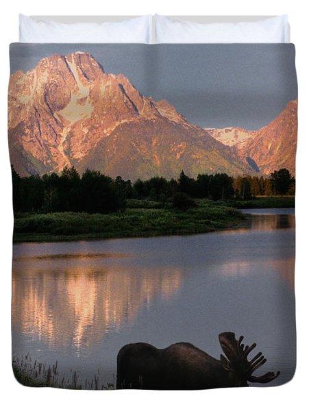 Morning Tranquility Duvet Cover by Sandra Bronstein