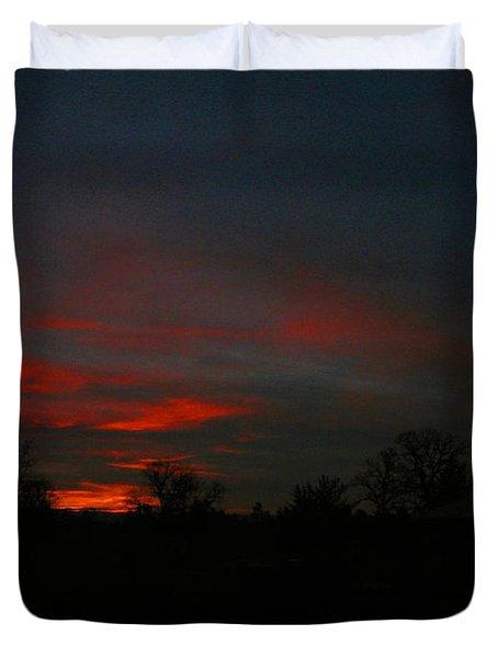 Mornings Early Light 012913 Duvet Cover by Joyce Dickens