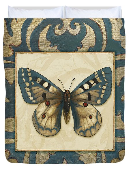 Moroccan Butterfly I Duvet Cover