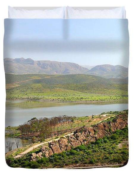 Moroccan Countryside 1 Duvet Cover