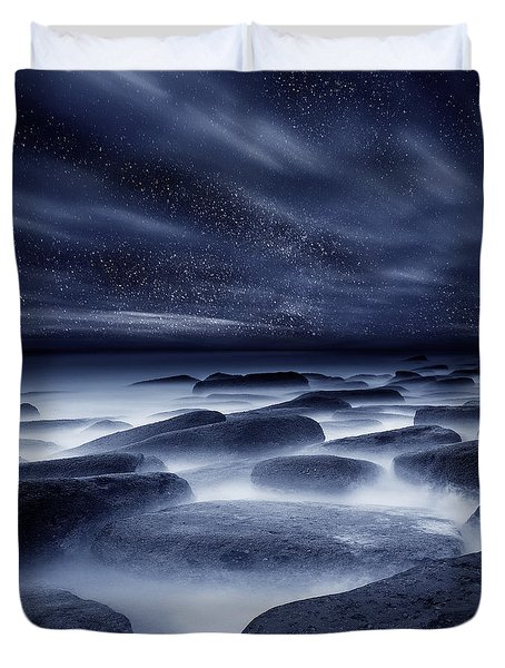 Morpheus Kingdom Duvet Cover by Jorge Maia