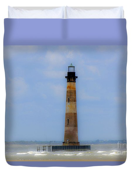 Sand Sea And Whimsey Duvet Cover by Dale Powell