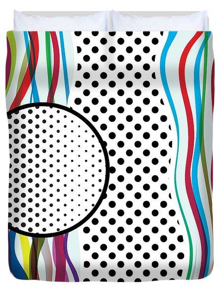 Morris Like Pop Art Duvet Cover