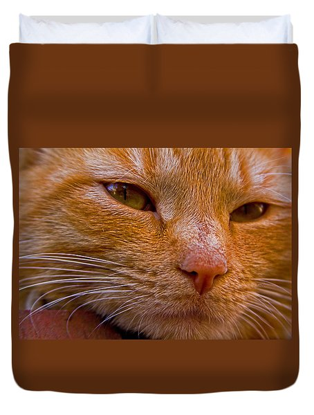 Morris Up Close Duvet Cover by Andy Lawless