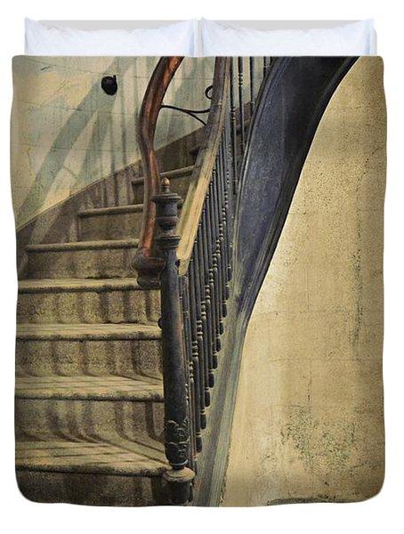 Morton Hotel Stairway Duvet Cover