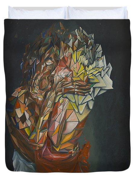Mosaic Embrace Duvet Cover