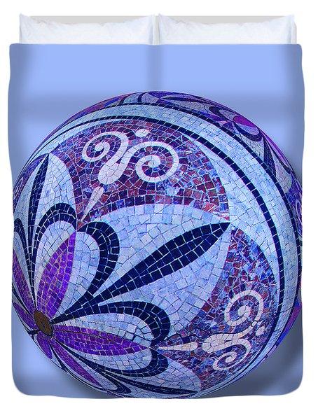 Mosaic Orb 1 Duvet Cover by Tony Rubino