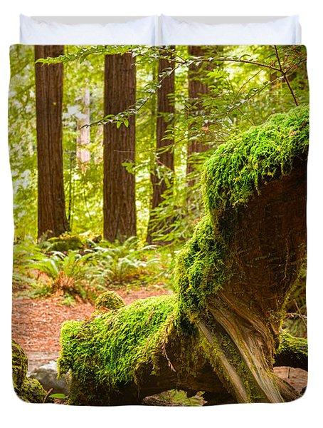 Mossy Creature Duvet Cover
