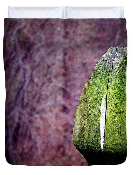 Mossy Post Duvet Cover