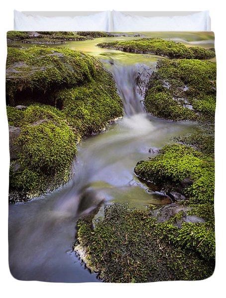 Mossy Stream Duvet Cover