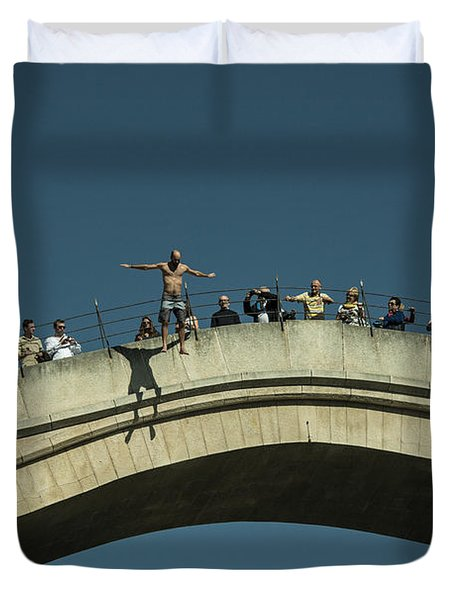 Mostar Jumper  Duvet Cover