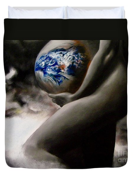Mother Earth Duvet Cover