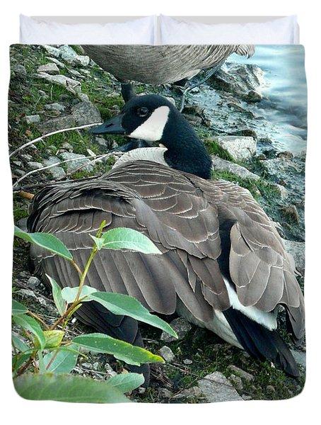 Mother Goose Duvet Cover by Nicki Bennett