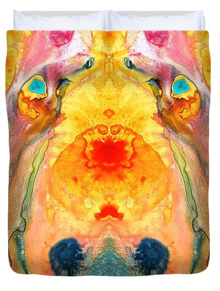 Mother Nature - Abstract Goddess Art By Sharon Cummings Duvet Cover