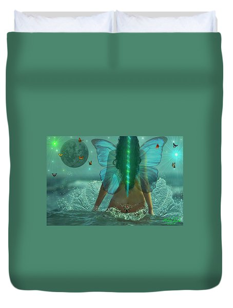 Mother Nature Duvet Cover by Michael Rucker