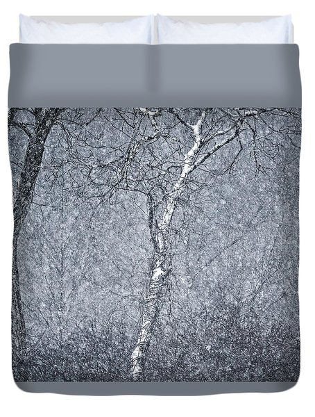 Mother Nature's Howl Duvet Cover