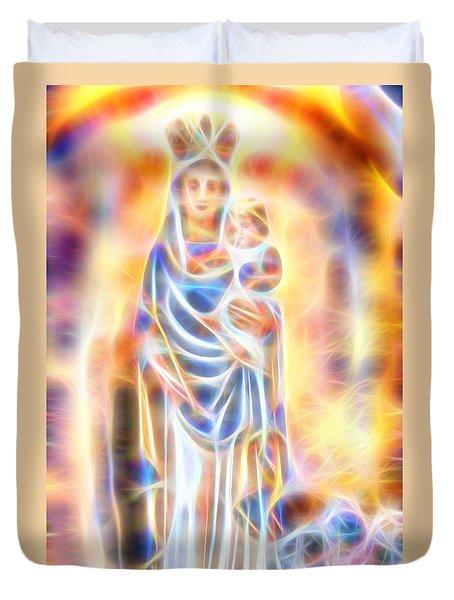 Mother Of Light Duvet Cover