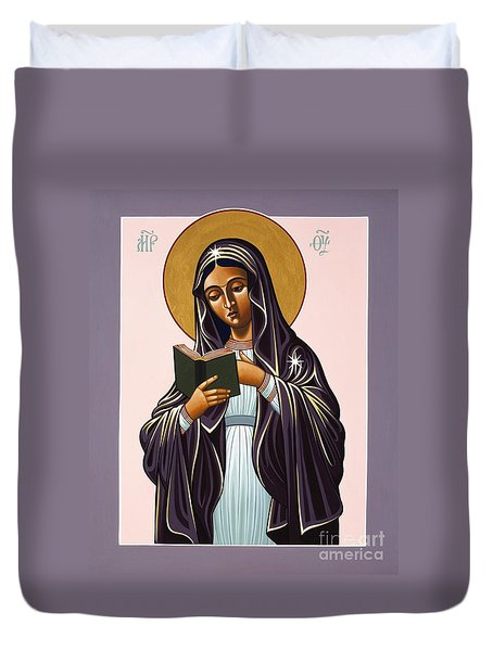 Mother Of The Incarnate Word 071 Duvet Cover
