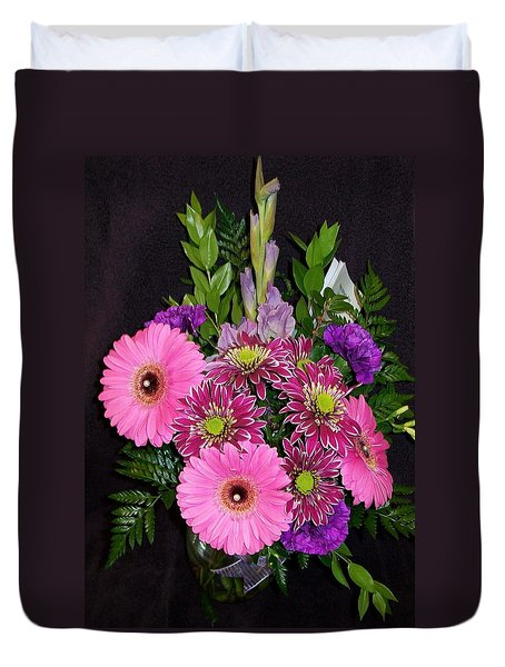 Mother's Day Bouquet Duvet Cover