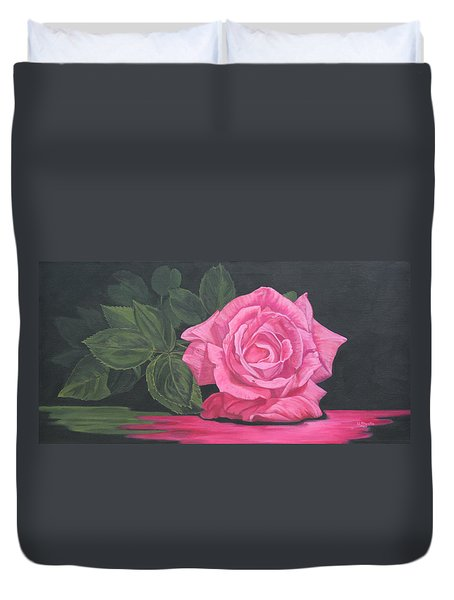 Mothers Day Rose Duvet Cover