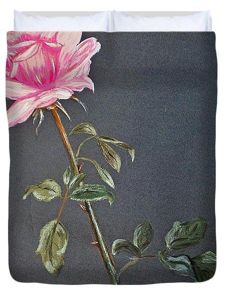 Mothers Rose Duvet Cover