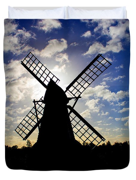 Moulin Noir Duvet Cover