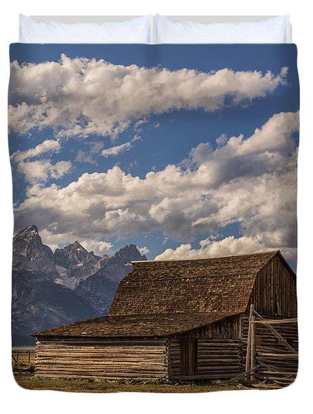 Moulton Barn - Grand Teton National Park Wyoming Duvet Cover