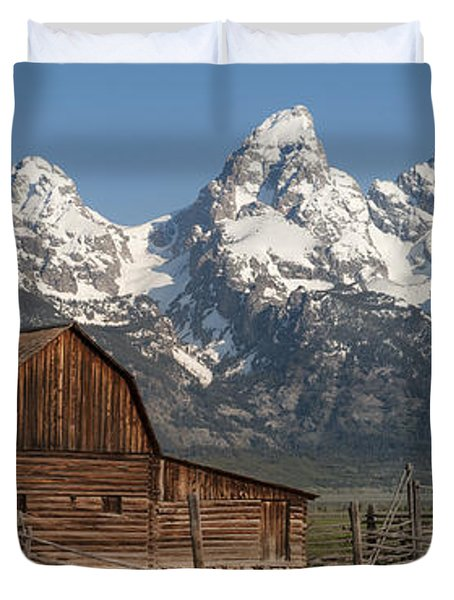 Moulton Barn - Grand Tetons I Duvet Cover