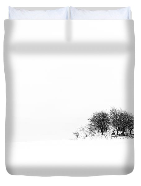Duvet Cover featuring the photograph Mound by Gert Lavsen