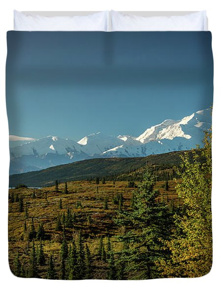 Mount Denali, Previously Known Duvet Cover
