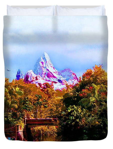 Mount Disney Duvet Cover