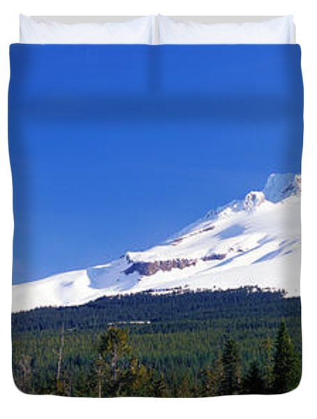 Mount Hood Or Usa Duvet Cover