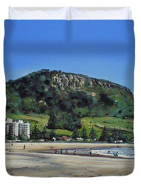 Mount Maunganui Beach 151209 Duvet Cover