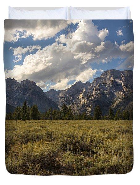 Mount Moran - Grand Teton National Park Duvet Cover