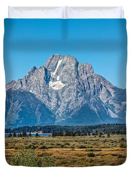 Mount Moran Duvet Cover
