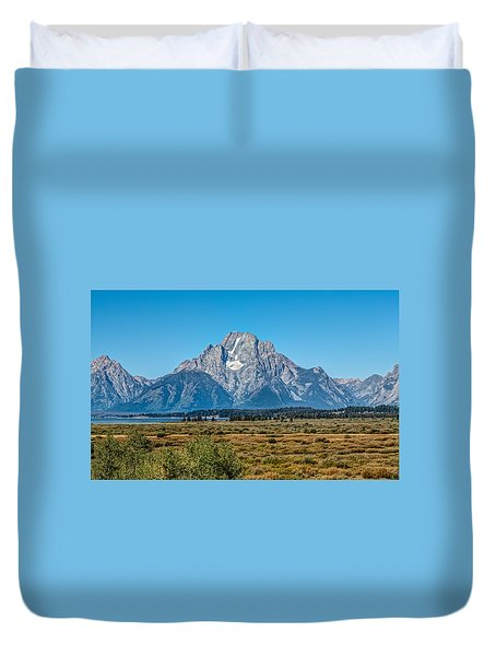 Mount Moran Duvet Cover