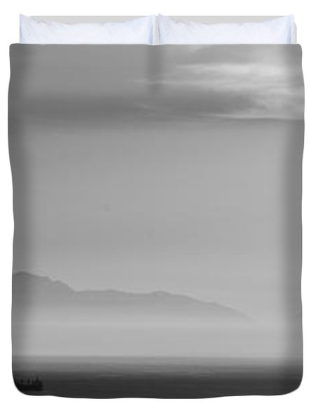 Mount Olympus Greece Duvet Cover by Sotiris Filippou
