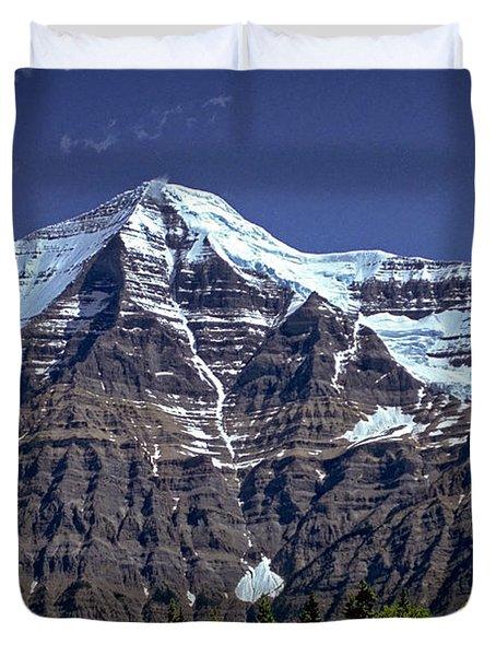 Mount Robson Duvet Cover