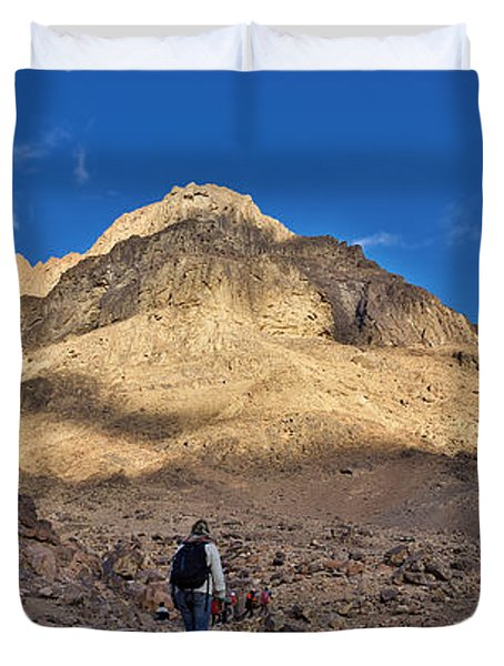 Mount Sinai Duvet Cover