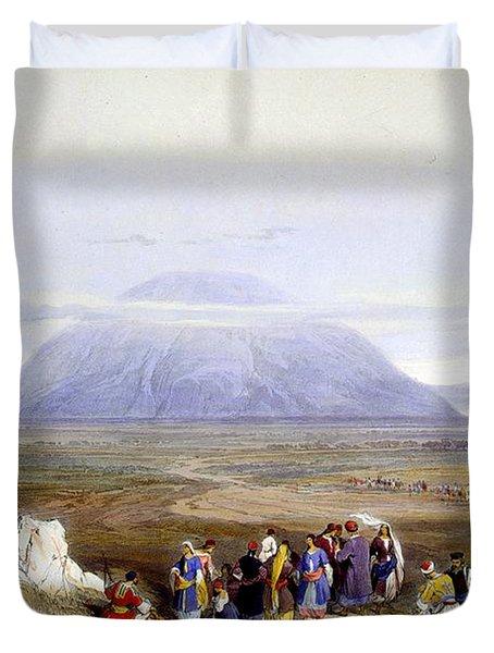 Mount Tabor Duvet Cover