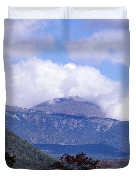 Mount Washington Duvet Cover