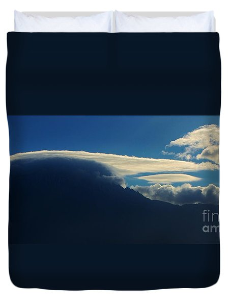 Mountain Cap Duvet Cover