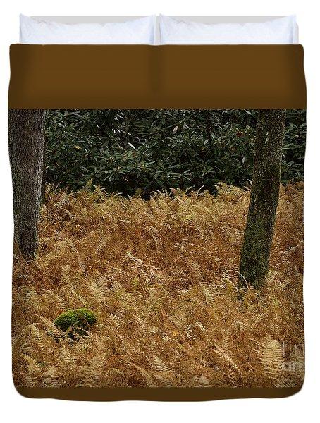 Mountain Carpet Duvet Cover by Randy Bodkins