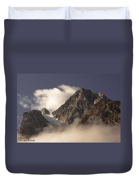 Mountain Clouds Duvet Cover