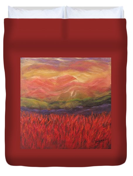 Mountain Dreams Duvet Cover