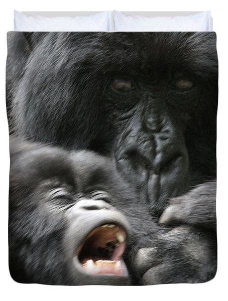 Mountain Gorilla Adf2 Duvet Cover