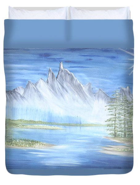 Mountain Mist 2 Duvet Cover