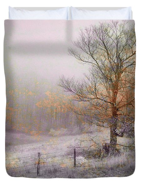 Mountain Mist II Duvet Cover