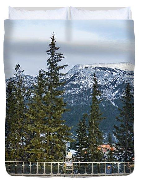 Mountain Paradise Duvet Cover
