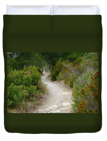 Mountain Path Duvet Cover